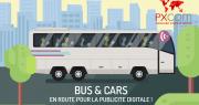 Publicité digitale à bord des cars et bus: amélioration de l'expérience passagers