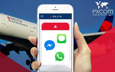 WhatsApp, Messenger et iMessage à bord de Delta Air Lines