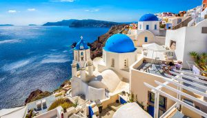 greece santorini photo city sea sun tourism landscape