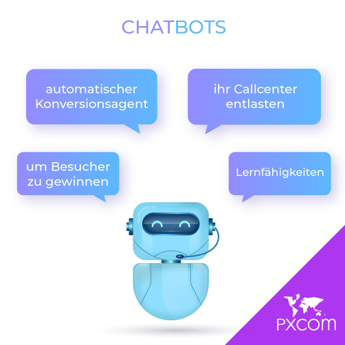 Künstliche Intelligenz tourismus besucher Lernfähigkeiten Konversionsagent chatbot chatbots