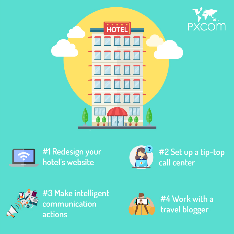 boost hotel bookings hotels travel bloggers blog tourism tourists marketing strategy digital website hotels booking visitors customers