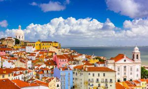 lisbon portugal capital tourism photo landscape city