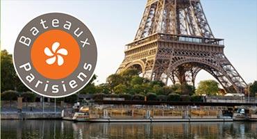 digital inflight campaign Paris cruise Bateaux Parisiens