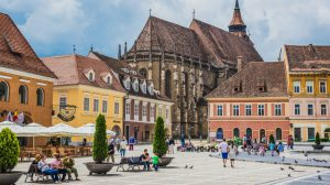romania brasov city tourism landscape photo