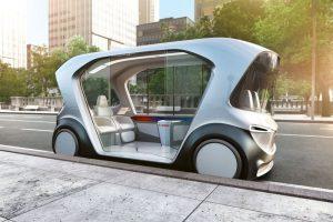 bosch ces 2019 autonomous vehicule autonome pod tech