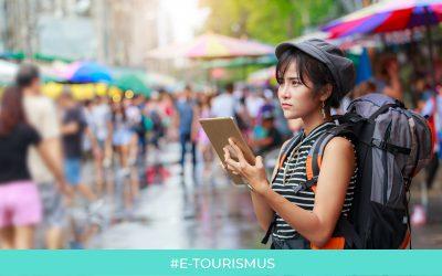 Reiseführer betreten die digitale Ära