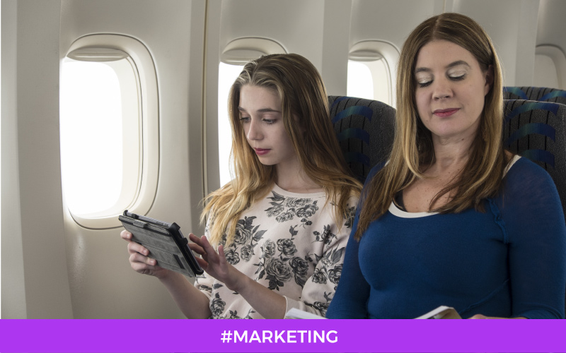 Inflight Advertising: Magazine vs Digital content