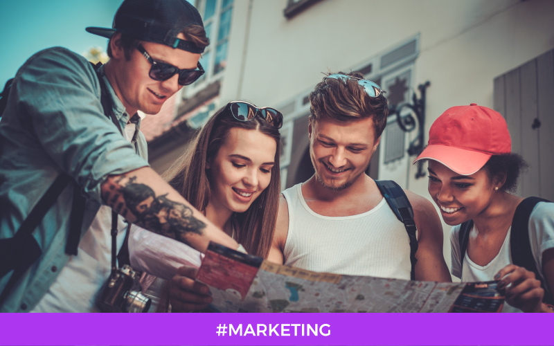 millenials jovenes viajeros jeunes voyageurs marketing destination