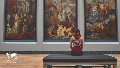 publicidad inflight de museos y centros culturales