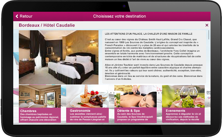 1. Your page on the digitaltouristic guide