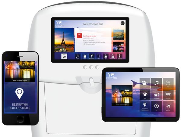 digital marketing con seatback screens, IFE and mobiles
