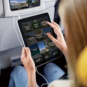 inflight digital media in board