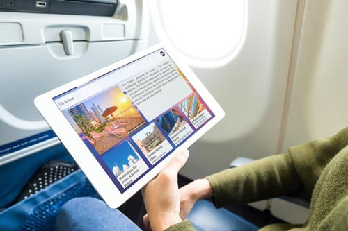 digital alternative to magazine inflight advertising