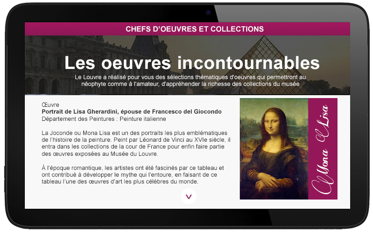 3. A microsite dedicated at to your museum