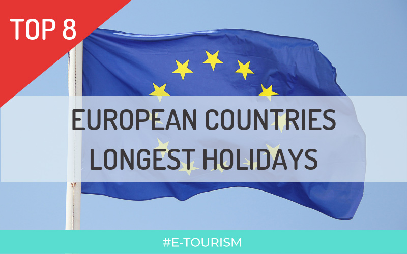 TOP 8 — European Countries Longest Holidays